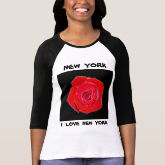 Liebe New York (Rose) New York I T-Shirt