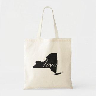 Liebe New York Tragetasche