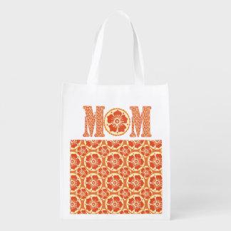 Liebe-niedlicher Hennastrauch der Mutter Tagesmit Wiederverwendbare Einkaufstasche