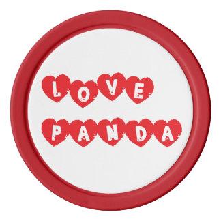 Liebe Panda® Poker Chip Set