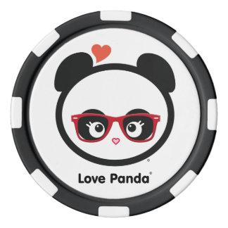 Liebe Panda® Poker Chips