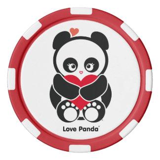 Liebe Panda® Poker Chips Set