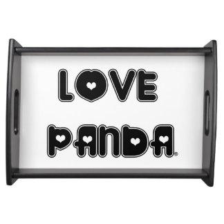 Liebe Panda® Tablett