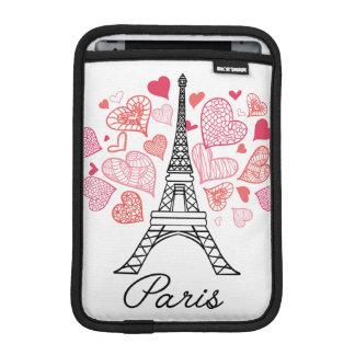 Liebe Paris, Frankreich Sleeve Für iPad Mini
