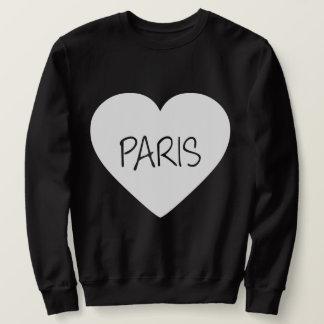 Liebe-Paris-Herz Sweatshirt