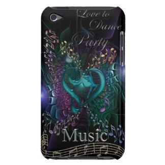 Liebe, ~ Party-Musikipod-Touch-Fall zu tanzen iPod Case-Mate Case