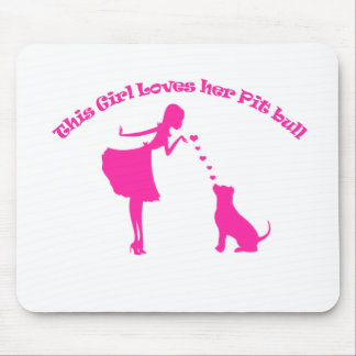 Liebe pitty mousepad
