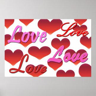 Liebe-Plakat