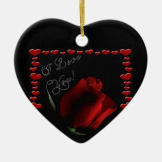 Liebe-Polterabend-Paarevalentine-Mutter-Ehefrau Keramik Ornament