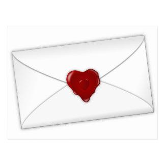 Liebe-Post Postkarte