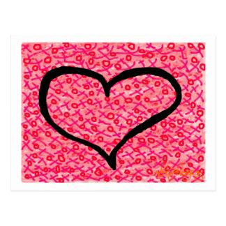 """Liebe"" Postkarte"
