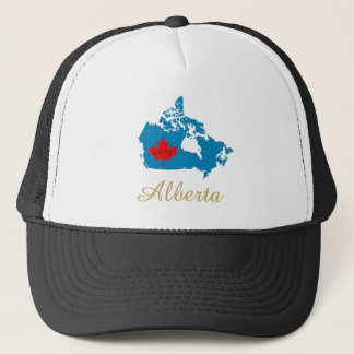 Liebe-Provinz-Kanada-Hut Albertas kundengerechter Truckerkappe