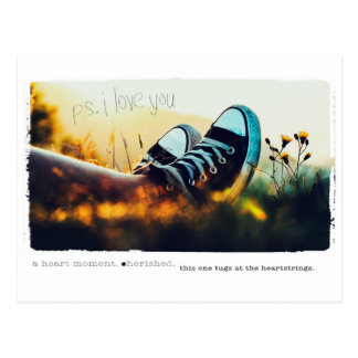 Liebe PS I Sie Postkarte