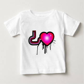 Liebe-Pumpe - Emo alternatives Grunge-Felsen-Punk Baby T-shirt