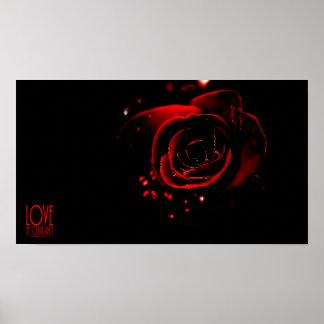 Liebe-Rose Poster