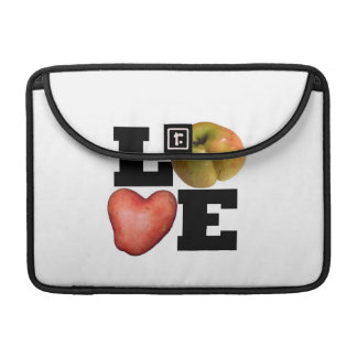LIEBE Sammlungs-Apple-Kartoffel MacBook Hülse MacBook Pro Sleeves