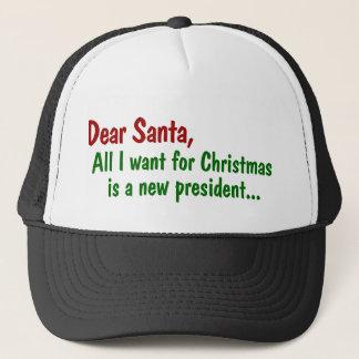 Liebe Sankt alle, die ich für Weihnachten will, Trucker Mützen