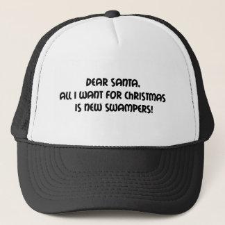 Liebe Sankt alle, die ich für Weihnachten will, Truckerkappe