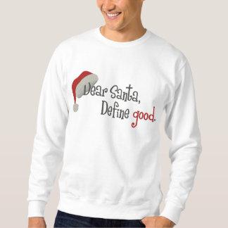 Liebe Sankt Besticktes Sweatshirt