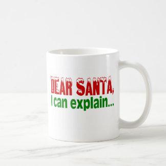 Liebe Sankt, die ich erklären kann Kaffeetasse