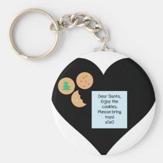 Liebe Sankt - holen Sie bitte Spielwaren Schlüsselanhänger