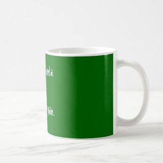 Liebe Sankt: Ich kann erklären… Kaffeetasse