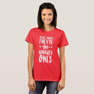 Liebe Sankt, sind sie die frechen T-Shirt