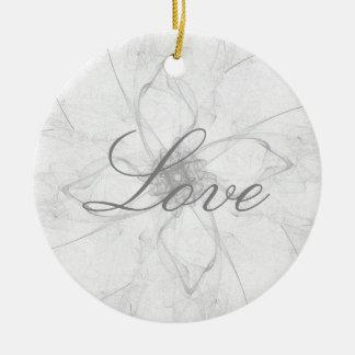 Liebe-Schablone-Entwurfs-Verzierung Keramik Ornament