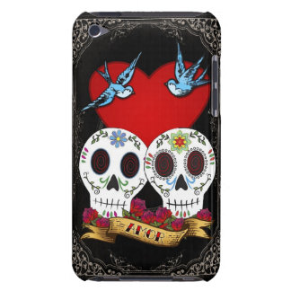 Liebe-Schädel-Case-Mateipod-Touch-Fall iPod Touch Cover