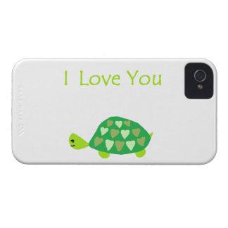 Liebe-Schildkröte iPhone 4 Case-Mate Hülle