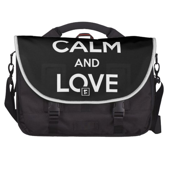Liebe-schwarze Katzen Laptoptasche