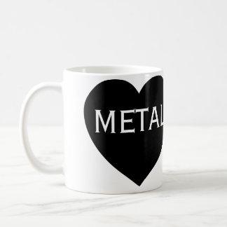 Liebe-Schwermetall Kaffeetasse