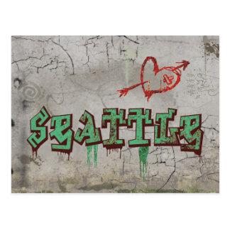 Liebe Seattle Postkarten