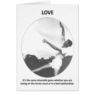 Liebe-sein-d-gleich-elend-Spiel-ob-Sie-seien Sie Karte