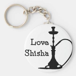 Liebe Shisha Standard Runder Schlüsselanhänger
