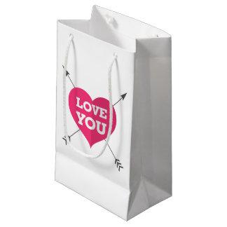 Liebe Sie Geschenk-Tasche Kleine Geschenktüte