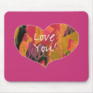 Liebe Sie! Herz (2) - Mousepad