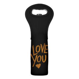Liebe Sie Herz - Wein-Tasche Weintasche
