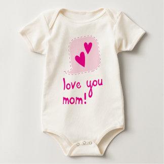 Liebe Sie Mamma Baby Strampler