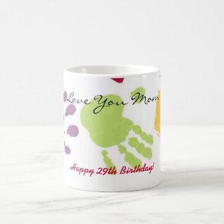 Liebe Sie Mamma, glücklicher 29. Geburtstag! Tasse
