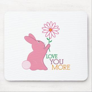 Liebe Sie mehr Mousepad