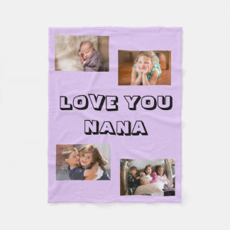 Liebe Sie Nana Fleecedecke