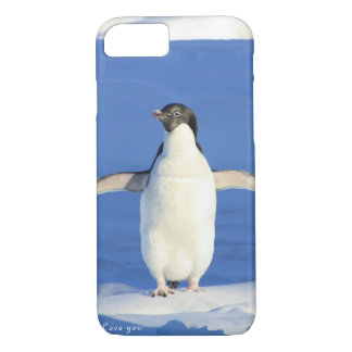 Liebe Sie Penguingeschenk iPhone 8/7 Hülle