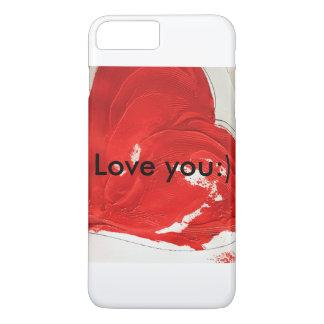 Liebe Sie:) Telefonkasten iPhone 8 Plus/7 Plus Hülle