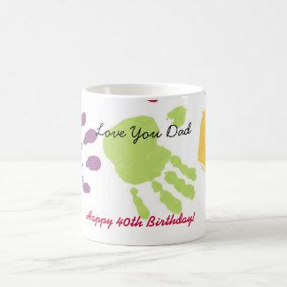 Liebe Sie Vati, glücklicher 40. Geburtstag! Kaffeetasse