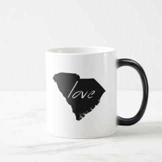 Liebe South Carolina Verwandlungstasse