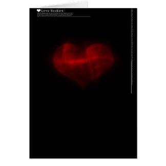 Liebe-Sucher Karte