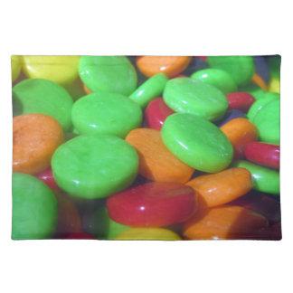 Liebe-Süßigkeit Stofftischset