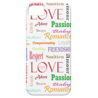 Liebe-Synonyme durch Shirley Taylor iPhone 5 Etui