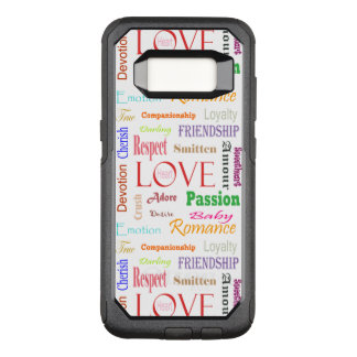 Liebe-Synonyme durch Shirley Taylor OtterBox Commuter Samsung Galaxy S8 Hülle